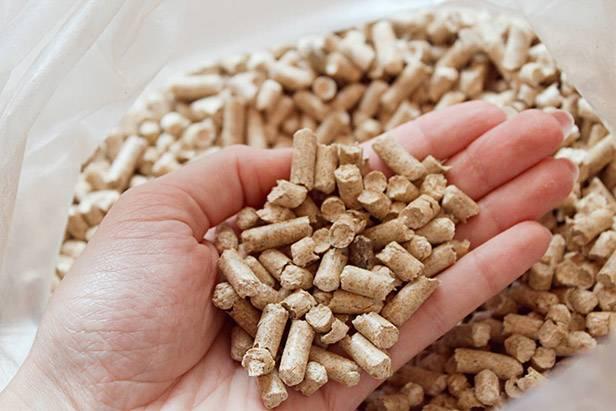 Medžio pjuvenų granulės